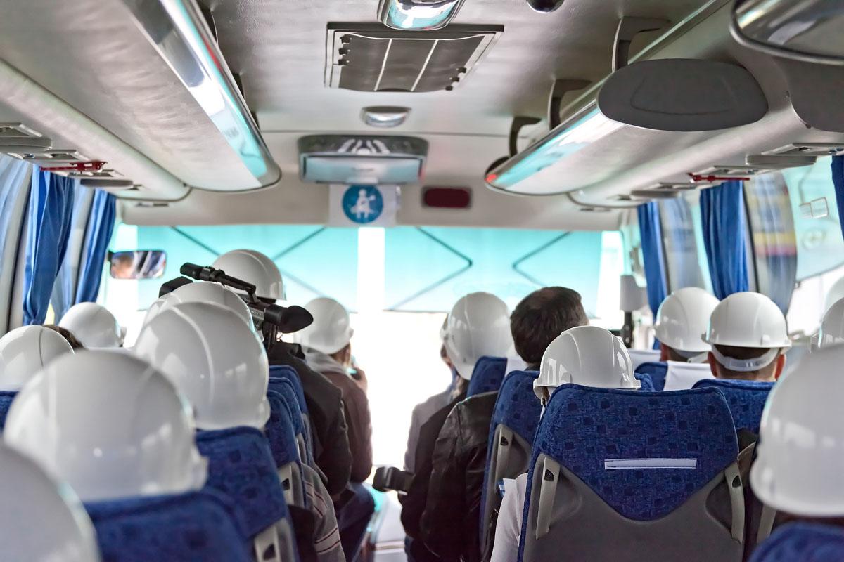 transport pracowników
