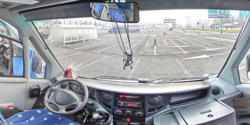 wnętrze autokaru